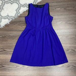 Theory Blue Sleeveless Dress Size 4